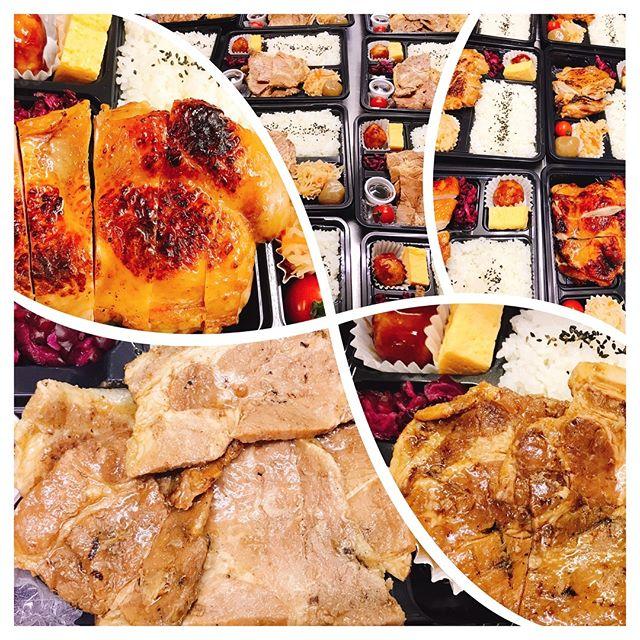 ロケ弁!#ロケ弁 キッチンブリランテ#帯広豚丼#グリルチキン#キッチンブリランテ