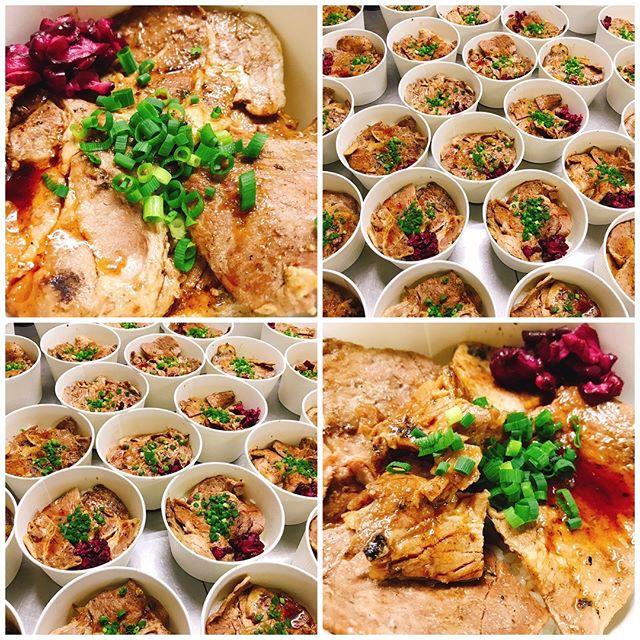 帯広名物!豚丼はいかがでしょう!#帯広豚丼#北海道グルメ#ロケ弁 キッチンブリランテキッチンブリランテ#